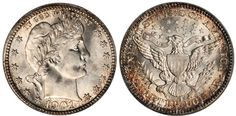"""The 1901-S Barber Quarter is known as the """"King of Barber Coinage"""" and the most difficult coin of the Barber Quarter series to acquire in any grade."""