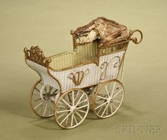 Marklin Doll Carriage | Sale Number 2476, Lot Number 219 | Skinner Auctioneers