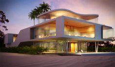 storey beautiful beach house