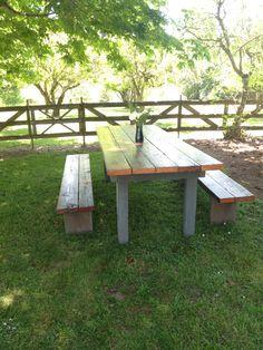 Barn wood farm table!