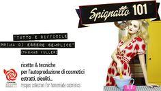 Indice delle ricette cosmetiche e delle preparazioni di base #cookingbeauty #sophiecognac #seleggilmioblogdiventipiubello