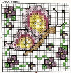Olá... Trago para vocês a segunda partedos gráficos de primavera!! Espero que gostem e comentem! 123 Cross Stitch, Small Cross Stitch, Butterfly Cross Stitch, Cross Stitch Cards, Cross Stitch Flowers, Cross Stitching, Cross Stitch Embroidery, Cross Stitch Patterns, Crochet Bedspread Pattern