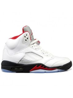 sale retailer 0f441 8a183 Buy Discount Air Jordan 5 White Fire Red Black 2013 For Sale