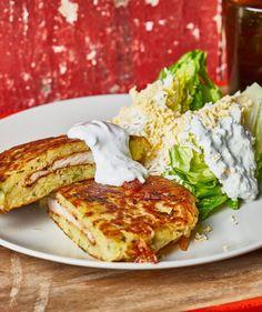Mátrai borzaska 2.0 | Street Kitchen Hungarian Recipes, Cheddar, Pancakes, Sweets, Breakfast, Kitchen, Food, Morning Coffee, Cooking
