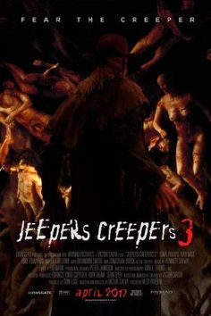 Find more movies like Jeepers Creepers III to watch, Latest Jeepers Creepers III Trailer, The Sceptical Sargent tubbs assembles a task force hellbent on destroying the creeper. Jeepers Creepers 3, Horror Movie Posters, Horror Movies, Streaming Movies, Hd Movies, Hd Streaming, Movie Tv, Scary Movies To Watch, Watch Free Movies Online
