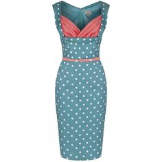 Little Wings Factory - Lindy Bop 'Vanessa' Pastel Green Wiggle Dress, £35.00 (http://www.littlewingsfactory.com/lindy-bop-vanessa-pastel-green-wiggle-dress/?fullSite=1/)