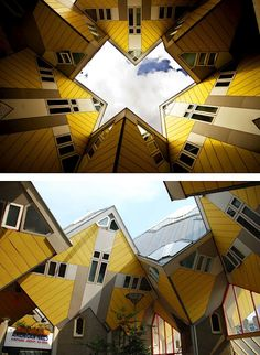 Cubic Houses (Rotterdam, Holland)