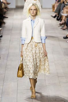 This entire look // Michael Kors Collection Spring 2015 RTW #NYFW