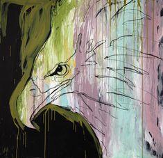 Havørn portrett (livskraftig bestand i Norge)   150 x 150 cm…   Gunilla Holm Platou   Flickr Cool Art, Fun, Painting, Painting Art, Paintings, Painted Canvas, Drawings, Hilarious