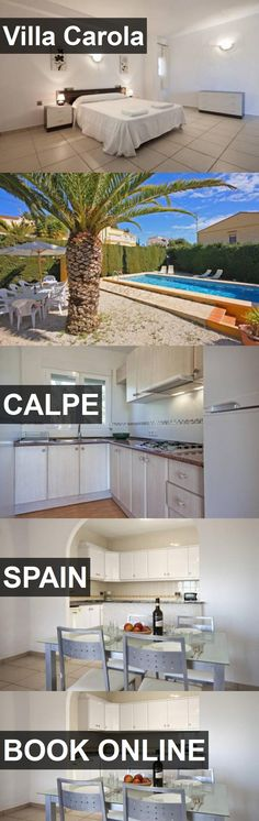 Hotel Villa Carola in Calpe, Spain. For more information, photos, reviews and best prices please follow the link. #Spain #Calpe #travel #vacation #hotel