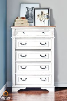 A piece from the #Raelyn collection makes a great focal point of any room! Shop the collection before it's too late. Big Girl Bedrooms, Girls Bedroom, Dresser As Nightstand, Mattress, Your Style, Goals, Shop, Furniture, Collection