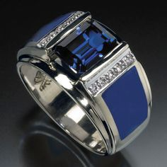 See our unique and stylish men's designs in fine art rings. Mens Gold Rings, Rings For Men, Men's Jewelry Rings, High Jewelry, Sapphire Jewelry, Stainless Steel Rings, Ring Designs, Accessories, Blue Zircon