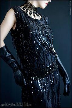 IF I WERE A FLAPPER - 1920s style | Speakeasy dress © Kambriel - All Rights Reserved.