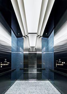 Restaurant Trends, Elevator Design, Elevator Lobby, Lift Design, Futuristic Interior, Lifted Cars, Ceiling Design, My Dream Home, Interior Architecture