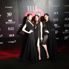 PATINYA Prive' dresses exclusive for the show. Myself with top super models Khun Pancake Khemanit and Khun Am Suttikan. ELLE 20th Anniversary Celebration, Fashion Tribute Collection. @ellethailandofficial @khemanito @am_suttikan @patinyabkk @guitarpatinya #patinyabkk #patinya #thaidesigners #fashion #dress