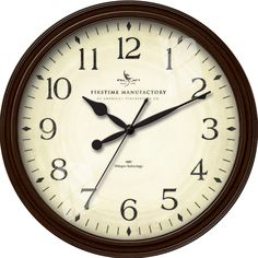 "FirsTime 20"" Avery Whisper Wall Clock"
