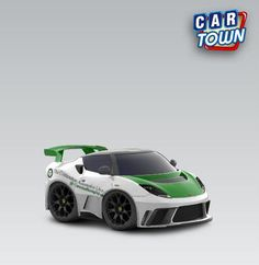 The Crittenden Automotive Library's #Lotus Evora GTE from Car Town.