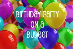 birthday on a budget
