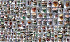 El Rinconcito de Zivi: tarros de vidrio reciclados y  pintados para guard...