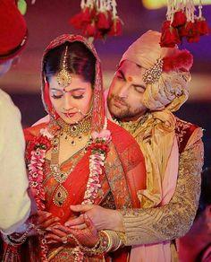 Neil Nitin Mukesh and new bride Rukmini Sahay.