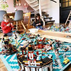 Duplo voorbeelden; 100x bouwen ideeën en voorbeeldkaarten nabouwen - Mamaliefde.nl Lego Craft, Catering, Crafts For Kids, School, Baby, Rainbows, Crafts For Children, Catering Business, Kids Arts And Crafts