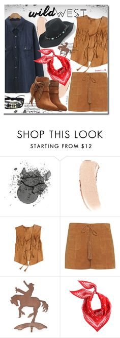 """Wild West Boho Style"" by beebeely-look ❤ liked on Polyvore featuring Bobbi Brown Cosmetics, Calypso St. Barth, Exclusive for Intermix, suede, Bohemian, sammydress, BohoStyle and wildwest"