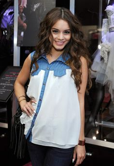 Vanessa Hudgens - Celebs at the Macy's Retrospective of Madonna