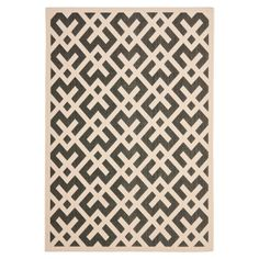 Chic Crosshatch Area Rug