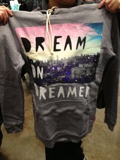 Dream in Dreamer hoodie by GLMR KILLS at zumies