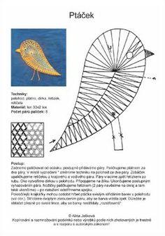Oiseau Bobbin Lace Patterns, Crochet Flower Patterns, Crochet Flowers, Crochet Lace, Bruges Lace, Bobbin Lacemaking, Lace Art, Point Lace, Lace Jewelry