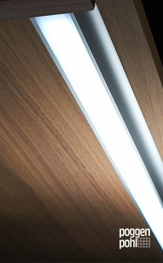 Poggenpohl -  kitchen cabinet led strip lighting