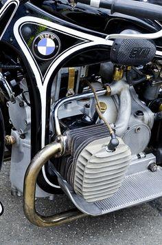 BMW R12 sidecar (1935) by -The Adventurous Eye-