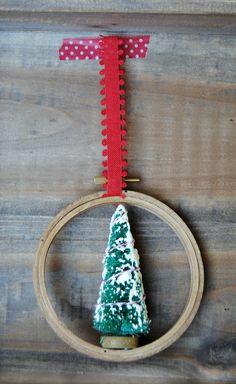 Embroidery Hoop Chri