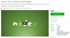 Learn and Understand NodeJS http://ift.tt/1TePMpp  #udemy #coupon #discount #couponcode #promocode