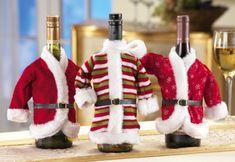 Flaschendeko zu Weihnachten - DIY Weihnachtsschmuck aus recycelten Flaschen - http://freshideen.com/weihnachtsdekoration-ideen/flaschendeko-zu-weihnachten.html