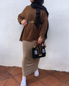 to wear pencil skirts with hijab – Just Trendy Girls: www.justtrendygir… How to wear pencil skirts with hijab – Just Trendy Girls: www.justtrendygir… - How to wear pencil skirts with hijab – Just Trendy Girls: www. Modest Fashion Hijab, Modern Hijab Fashion, Hijab Fashion Inspiration, Hijab Chic, Muslim Fashion, Mode Inspiration, Modest Outfits, Fashion Outfits, New Hijab Style