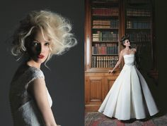 wedding dress, hairstyle bride