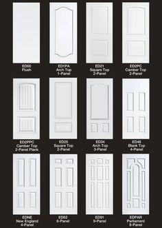exterior door design chart - Google Search