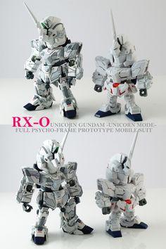 [Modelers-G] SD Unicorn Gundam (Unicorn Mode) | GundamModelKits.com