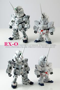 [Modelers-G] SD Unicorn Gundam (Unicorn Mode) | GundamModelKits.com