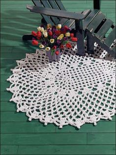 Free Crochet patterns for rugs - Dancing Chains