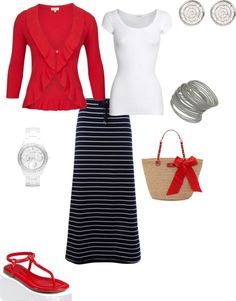 Memoerial Day Cook-out, created by lcjockwife on Polyvore