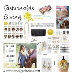 """Fashionable Giving: Noonday Collection"" Contact me to host a trunk show!"