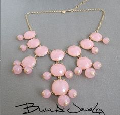 J.CREW Faceted Bubble Bib Statement Necklace