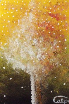 Tarjeta de Navidad pintada a mano. CalpeArts, Susanna. http://calpearts.blogspot.com.es/p/blog-page_31.html