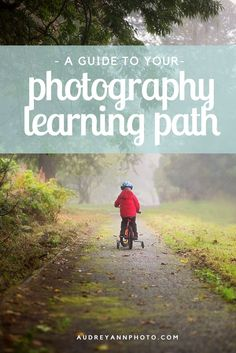 A Guide to Your Photography Learning Path - what to learn first, and what to move onto at whatever stage you are at!