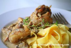 New Kitch On The Blog: Ein Genuss: Poulet au Riesling