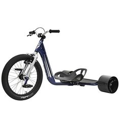 Triad Drift Trike - Underworld 3 - Adult Tricycle with Snake Head Frame, Commander V Brakes Blue, Silver Drift Trike, Adult Tricycle, Childrens Gifts, Underworld, 1 Piece, Bike, Ebay, Outdoor, Chrome
