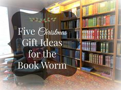 "I once did a ""Five Valentine's Gift Suggestions for the Book Worm"", since it's almost Christmas, and  I'm trying to get myself into a festive mood, I decided to pen an…"