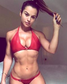 A picture of Alice Matos. This site is a community effort to recognize the hard work of female athletes, fitness models, and bodybuilders. Hot Girls, Girls With Abs, Alice Matos, Selfies, Bikini Azul, Fitness Motivation, Daily Motivation, Exercise Motivation, Model Training